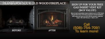 what s wrong with old wood fireplaces