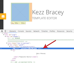 How to Customize an HTML Template