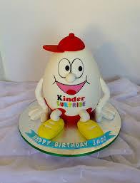 Egg Surprise Cake Design Kinder Surprise Egg Shaped Birthday Cake Surprise Cake