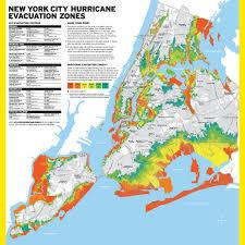 map nyc has new hurricane evacuation zones gothamist