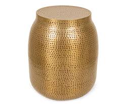 Never miss new arrivals that match exactly what you're looking for! Gold Drum End Table Big Lots