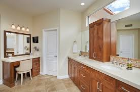 bathroom remodeling tucson. Brilliant Bathroom Transitional Master Bath Makeup Vanity Area Picture Framed Mirror Wall  Hung Magnifying Mirror And Flat Screen TV To Bathroom Remodeling Tucson R