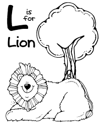 Small Picture Zoo animal coloring pages l for lion ColoringStar
