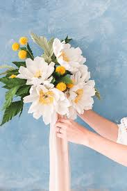 Paper Flower Bouquet For Wedding How To Make Gorgeous Paper Flowers 20 Diy Flower Tutorials