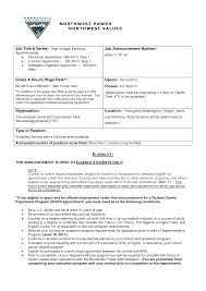 Fascinating Resume For Electrical Apprenticeship For Your Calebs