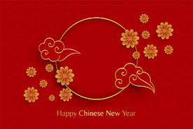 Download free chinese new year background images. Free Vector Happy Chinese New Year Red Background