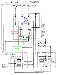 240v contactor wiring diagram with schematic