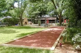 bocce ball court cost backyard