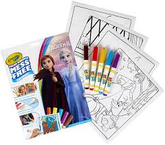 Coloring page of the day. Amazon Com Crayola Color Wonder Frozen Coloring Book Markers Mess Free Coloring Gift For Kids Age 3 4 5 6 Styles May Vary Toys Games
