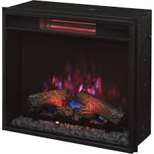 chimney free spectrafire plus infrared electric fireplace for great infrared fireplace insert