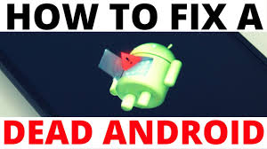 How To Fix The Dead Android And Red Triangle Error Symbol Android