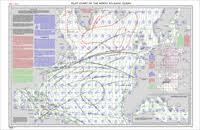 North Atlantic Ocean Pilot Chart For July 2002