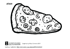 Free Printable Pizza Coloring Pages Thanksgiving Coloring Pages