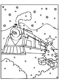 Small Picture Polar Express Train Coloring Page Coloring Pages Ideas