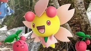 Pokemon Cherrim Evolution Chart Pokemon Go How To Get Cherubi Evolve To Cherrim Sunshine