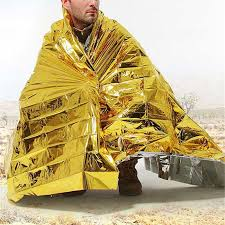 Outdoor <b>Emergency</b> Insulation <b>Blanket</b> First Aid Kit Camp Dry ...