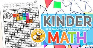 Kindergarten Math Printables -
