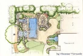 landscape architecture blueprints. Beautiful Blueprints Landscape Architecture Drawings With Tree  And Blueprints S