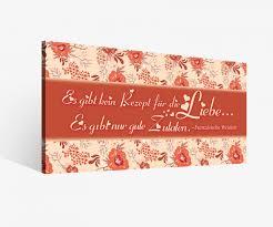 Leinwand 1tlg Liebe Zitat Blumen Rot Spruch Sprüche Bilder