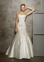 embroidered wedding dress. Duchess Satin with Embroidery Wedding Dress Style 2512 Morilee