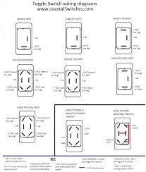 wiring diagrams coastal switches toggle switch wiring diagram
