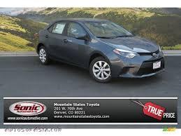 2014 Toyota Corolla LE in Slate Metallic - 011850 | Autos of Asia ...