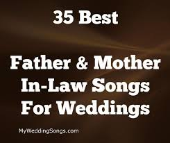 Choosing a song for when mother and son unite to take over the dance floor at a wedding can be a tricky decision. 50 Best Father Mother In Law Dance Songs My Wedding Songs Father Daughter Dance Songs Wedding Song List Father Daughter Wedding Songs