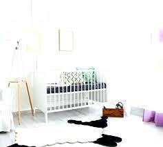 black and white striped rug nursery lamb large faux fur warm place an black white pink nursery rug sheepskin