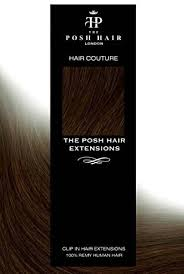 THE POSH HAIR. Full Head Clip in Real REMY Human Hair Extensions Hair  extension clip on (18 inch/100g,1 JET BLACK): Amazon.co.uk: Beauty