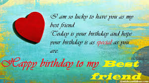 Birthday Quotes For Best Friend Amazing Best Friend Birthday Wishes Massages SMS And Images For Boy Girl