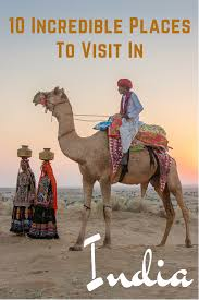 Ten Incredible Places to Visit in India | India, India travel and Asia