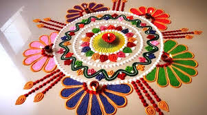 Flower Rangoli Designs For Corner Easy Rangoli Designs For Colorful Diwali 2019 Quick And