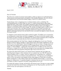 Letter To The President Of The United States 58 Senior