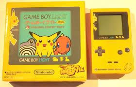 Pikachu Gameboy Light Nintendo