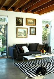 black and white striped rug tags area