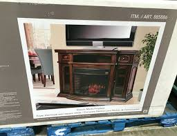 full image for infrared electric fireplace entertainment center muskoka kennedy reviews costco inserts