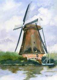 dutch painting the windmills of your mind by marsha elliott