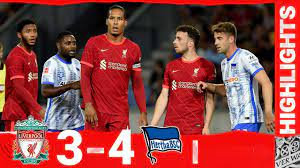 Highlights: Liverpool 3-4 Hertha BSC | Van Dijk & Gomez return to action! -  YouTube