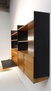Modular Wall Storage Scandinavian Mid Century Modern Modular Wall Mounted Desk Or