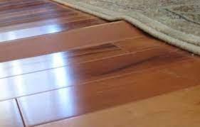 easy repair buckled hardwood flooring