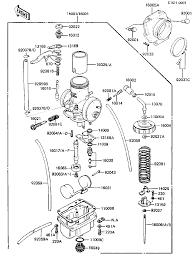 1983 kawasaki kdx250 kdx250b carburetor parts best oem carburetor parts diagram for 1983 kdx250 kdx250b motorcycles