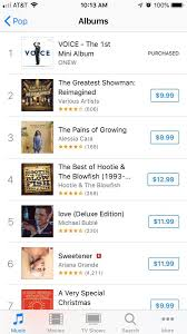 I Itunes Charts The Voice