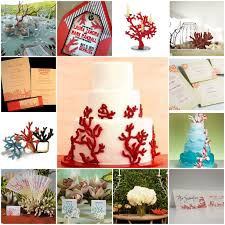 Coral Reef Wedding Decorations