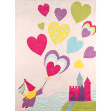 momeni lil mo whimsy erfly party area rug mo whimsy pink princess castle hand tufted and