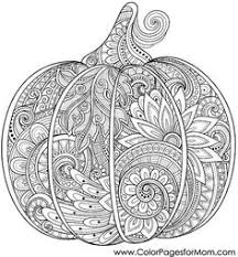 Small Picture 12 Fall Coloring Pages for Adults Pumpkin art designs
