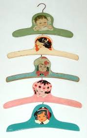 best vintage hangers images on wooden baby hangers white wooden baby clothes hangers