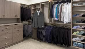 walk closet. Large, Walk In Custom Closet System Aria Laminate