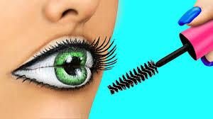 easy makeup tutorial pilation weird makeup ideas body paint illusions