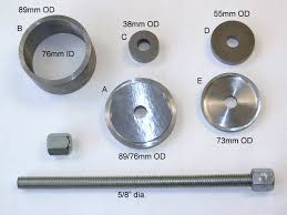 homemade wheel bearing puller. homemade wheel bearing puller