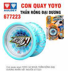 Yoyo thần rồng đại dương mã 677223 đồ chơi con quay yoyo cho trẻ em bằng  nhựa cao cấp